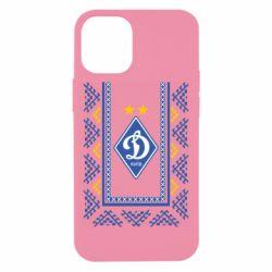 Чехол для iPhone 12 mini Dynamo logo and ornament