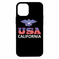 Чехол для iPhone 12 mini Eagle USA