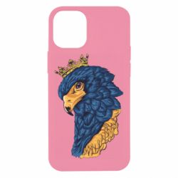Чехол для iPhone 12 mini Eagle with a crown on its head