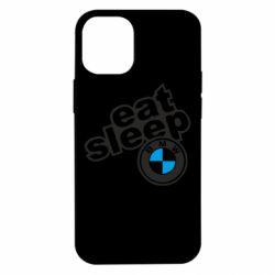 Чохол для iPhone 12 mini Eat, sleep, BMW
