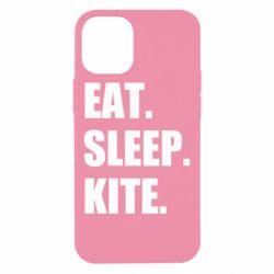 Чохол для iPhone 12 mini Eat, sleep, kite