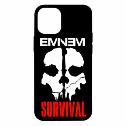 Чехол для iPhone 12 mini Eminem Survival