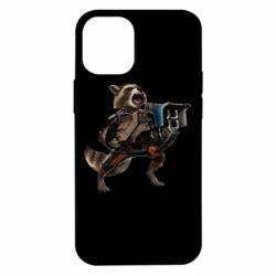Чехол для iPhone 12 mini Енот Стражи Галактики