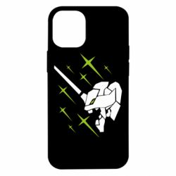 Чохол для iPhone 12 mini Evangelion head