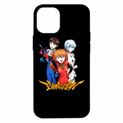 Чохол для iPhone 12 mini Evangelion Heroes