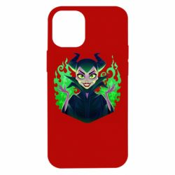 Чехол для iPhone 12 mini Evil Maleficent