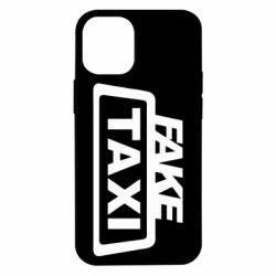 Чохол для iPhone 12 mini Fake Taxi