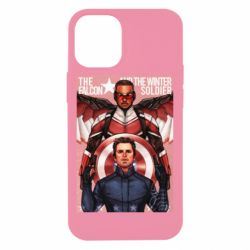 Чохол для iPhone 12 mini Falcon and the Winter Soldier Art