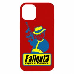 Чехол для iPhone 12 mini Fallout 3 Logo
