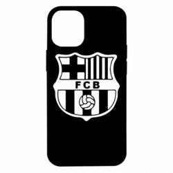 Чехол для iPhone 12 mini FC Barcelona