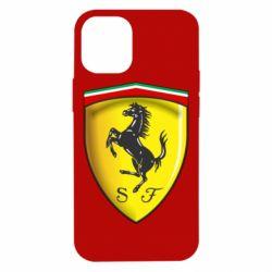 Чехол для iPhone 12 mini Ferrari 3D Logo