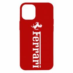 Чохол для iPhone 12 mini Ferrari