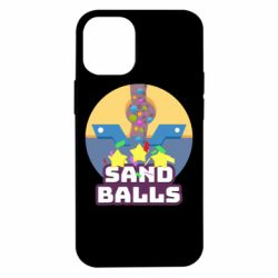 Чехол для iPhone 12 mini Finish Sand balls