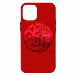 Чехол для iPhone 12 mini Fire and Blood