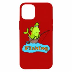 Чехол для iPhone 12 mini Fish Fishing