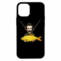 Чохол для iPhone 12 mini Fisherman and fish