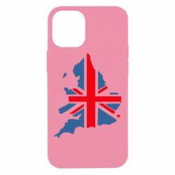 Чехол для iPhone 12 mini Флаг Англии