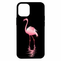 Чохол для iPhone 12 mini Фламинго
