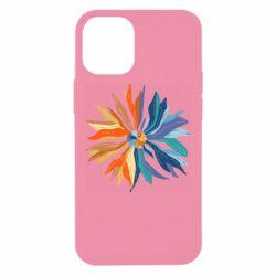 Чохол для iPhone 12 mini Flower coat of arms of Ukraine