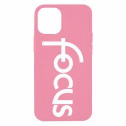 Чохол для iPhone 12 mini Focus