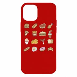 Чехол для iPhone 12 mini Food
