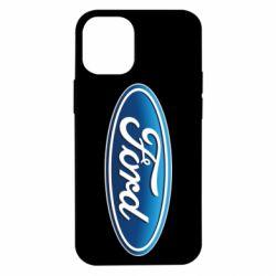 Чехол для iPhone 12 mini Ford 3D Logo