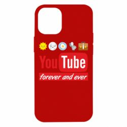 Чохол для iPhone 12 mini Forever and ever emoji's life youtube