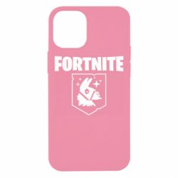 Чехол для iPhone 12 mini Fortnite and llama