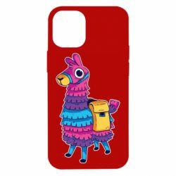 Чехол для iPhone 12 mini Fortnite colored llama