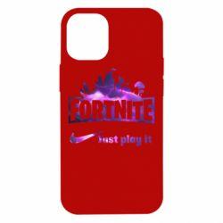 Чохол для iPhone 12 mini Fortnite just play it