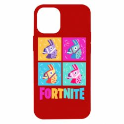 Чехол для iPhone 12 mini Fortnite Llamas