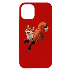 Чехол для iPhone 12 mini Fox in flight