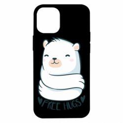 Чохол для iPhone 12 mini Free hugs bear