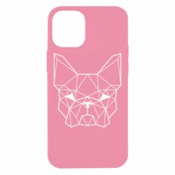 Чехол для iPhone 12 mini French Bulldog Art