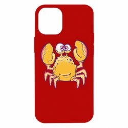 Чехол для iPhone 12 mini Funny crab