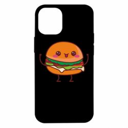 Чехол для iPhone 12 mini Funny sandwich