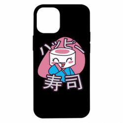 Чехол для iPhone 12 mini Funny sushi
