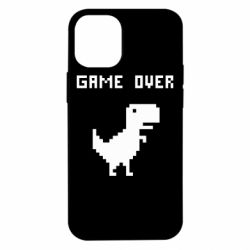 Чехол для iPhone 12 mini Game over dino from browser