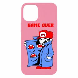 Чехол для iPhone 12 mini Game Over Mario