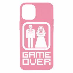 Чехол для iPhone 12 mini Game Over