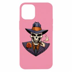 Чехол для iPhone 12 mini Gangsta Skull