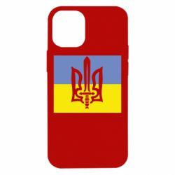 Чехол для iPhone 12 mini Герб Правого Сектору