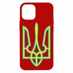 Чохол для iPhone 12 mini Герб України (двокольоровий)