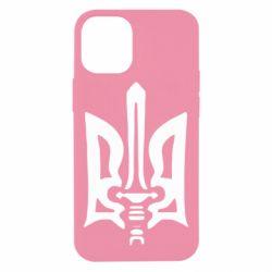 Чехол для iPhone 12 mini Герб з мечем