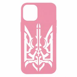Чохол для iPhone 12 mini Герб з металевих частин