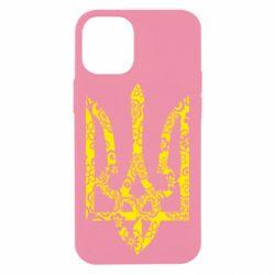 Чехол для iPhone 12 mini Герб з візерунками