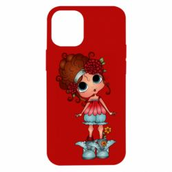 Чехол для iPhone 12 mini Girl with big eyes