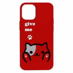Чохол для iPhone 12 mini Give me cat