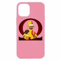 Чохол для iPhone 12 mini God of war: Simpson