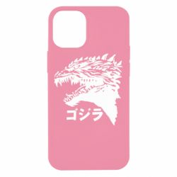 Чохол для iPhone 12 mini Godzilla in japanese
